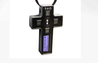 IceTech USA Crucifix MP3 Player